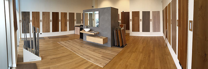 showroom pavimenti in legno
