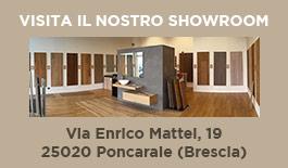 showroom pavimenti legno Real Parquet Italia Brescia
