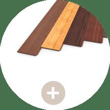 battiscopa in legno